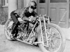 OEC Temple JAP . Joe Wright. 1930 World Motorcycle Land Speed Record